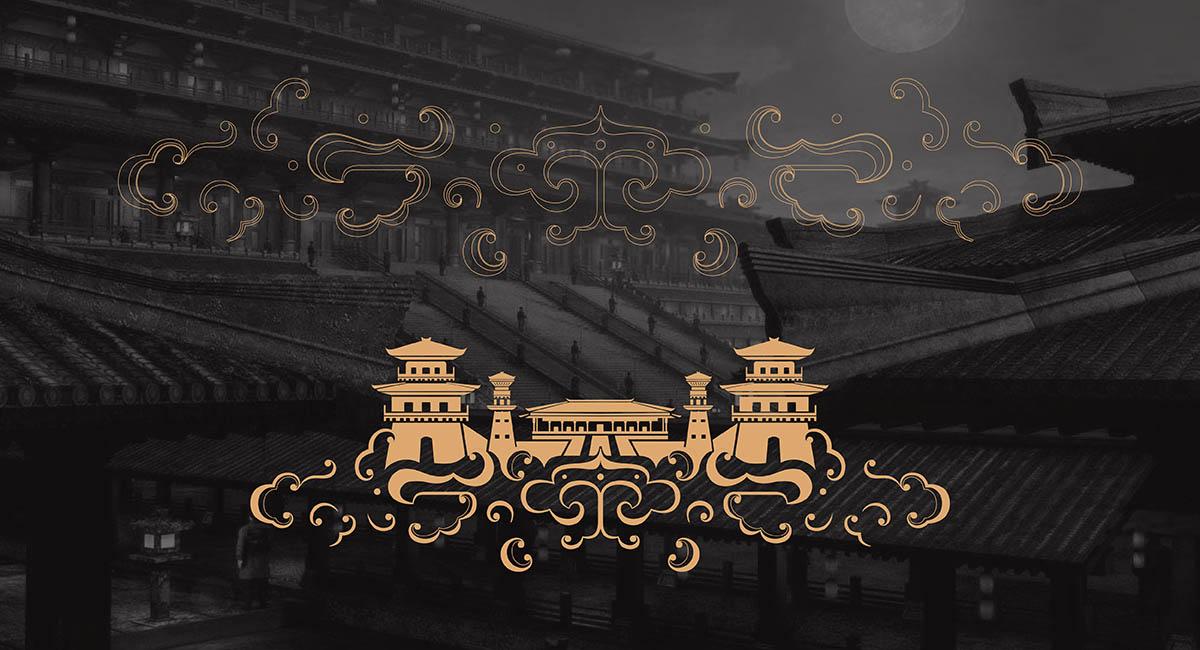 """蜀汉皇城为四川西岭液酒业有限公司注册品牌,公司位于""""千年酒乡""""之称的中国最大白酒原酒生产基地邛崃市, 蜀汉皇城既为其白酒品牌,也是本次委托九一堂品牌策划设计的概念火锅品牌, 作为白酒线下体验的重要窗口。   九一堂品牌策划设计首先从蜀汉皇城文化定位出发,找到其品牌核心价值, 最终定格""""川派特色文化的传承者, 健康美食的传播者""""的品牌地位上来, 而川派特色文化中较为典型与代表的,是对三国文化与成都现代文化的演艺与体验。在蜀汉皇城空间体验的表达上,我们从老成都,新成"""